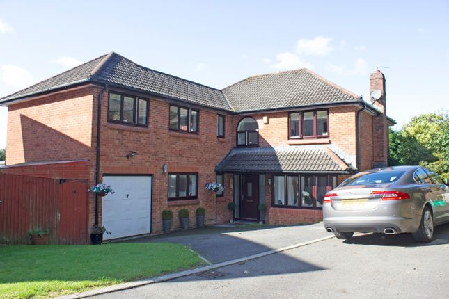 Thumbnail 5 bed detached house for sale in Lopwell Close, Derriford, Plymouth