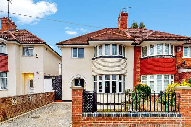 3 bed semi-detached house for sale in Medway Gardens, Sudbury, Wembley HA0