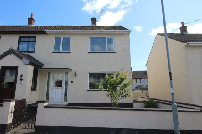 Thumbnail Terraced house to rent in Pinewood Avenue, Carrickfergus