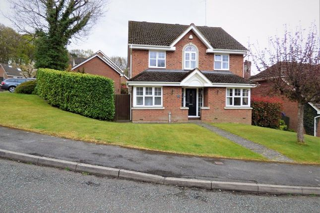 Thumbnail Detached house to rent in Badger Way, Hazlemere, High Wycombe