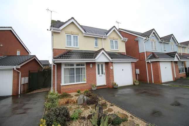 Thumbnail Detached house for sale in Beechcroft, Bedworth