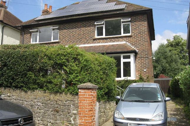 Thumbnail Semi-detached house to rent in Chipstead Lane, Riverhead, Sevenoaks