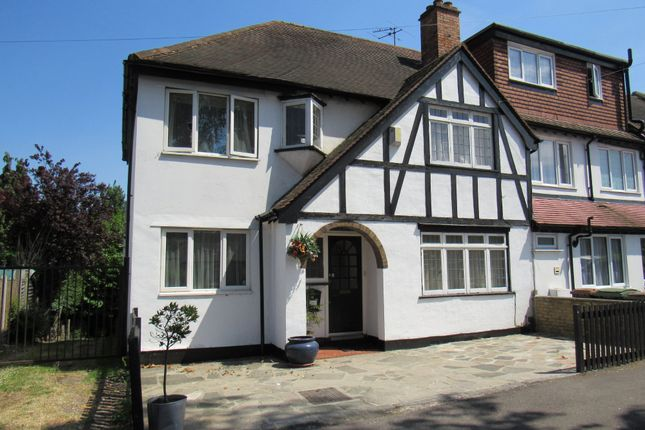 Thumbnail End terrace house for sale in Rectory Lane, Wallington