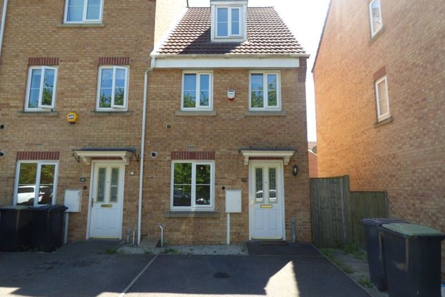Thumbnail Terraced house to rent in Oakland Way, Nottingham