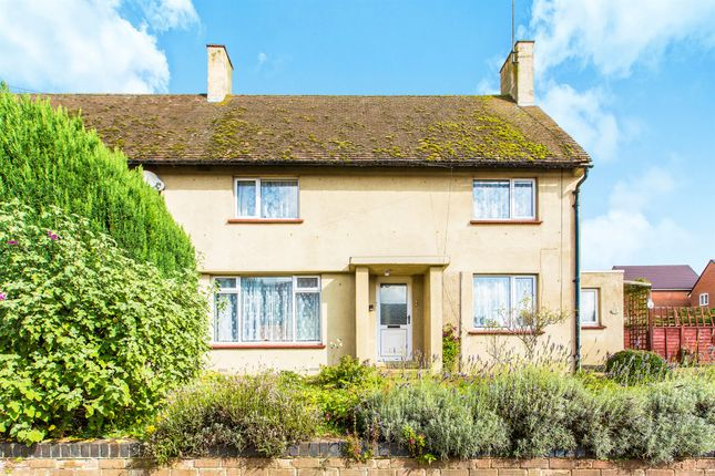 Thumbnail Semi-detached house for sale in High Street, Ringstead, Kettering