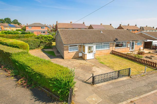 Thumbnail Semi-detached bungalow for sale in Cogan Crescent, Rothwell, Kettering