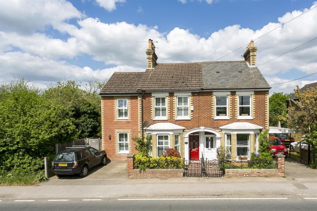 Thumbnail Semi-detached house for sale in Roughetts Row, Roughetts Road, Ryarsh, West Malling
