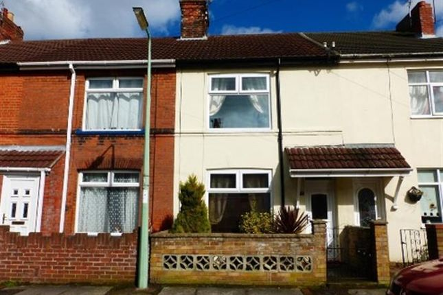 Thumbnail Terraced house to rent in Southwell Road, Lowestoft