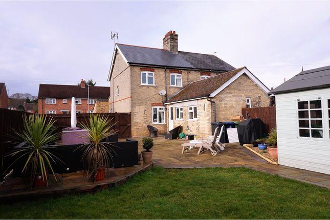 Thumbnail Semi-detached house for sale in Balsham Road, Linton Cambridge