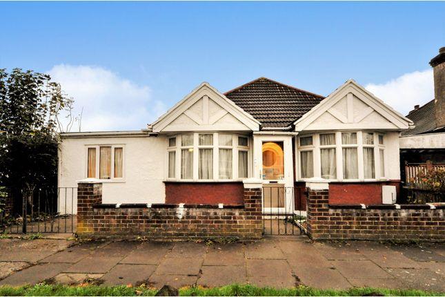 Thumbnail Detached bungalow for sale in Eton Avenue, Wembley