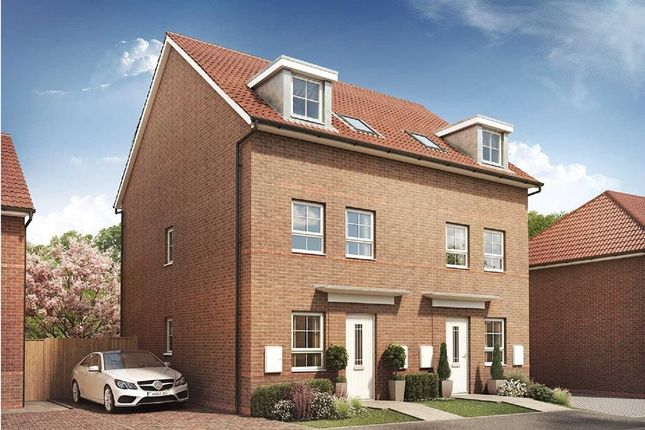 """Semi-detached house for sale in """"Norbury"""" at Rosedale, Spennymoor"""