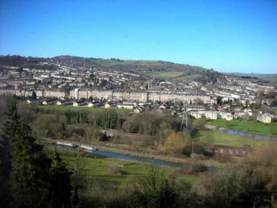Thumbnail Flat to rent in Hampton Hall, Warminster Road, Bath, Bath & Somerset