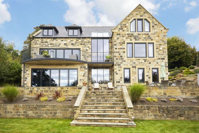 Thumbnail Detached house for sale in Kites Nest, Highfield Drive, Rawdon