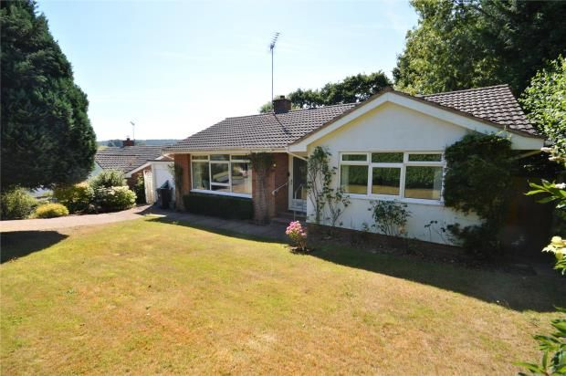Thumbnail Detached bungalow for sale in Woolbrook Meadows, Sidmouth, Devon