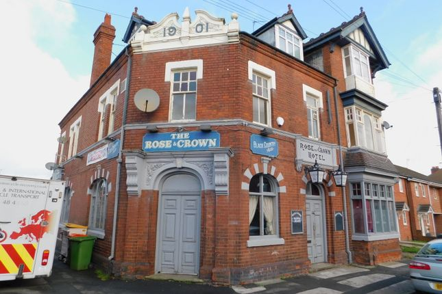 Thumbnail Pub/bar to let in Rose & Crown, 55 Old Birchills, Walsall