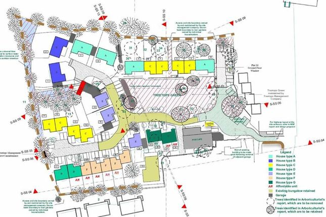 Thumbnail Land for sale in Treetops, The Square, Holsworthy, Cornwall