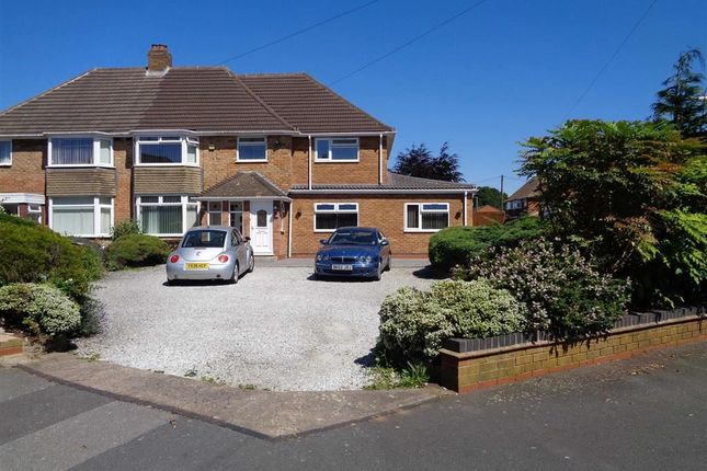Thumbnail Semi-detached house for sale in Woodford Avenue, Castle Bromwich, Birmingham