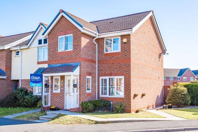 Thumbnail Semi-detached house for sale in Regency Square, Warrington