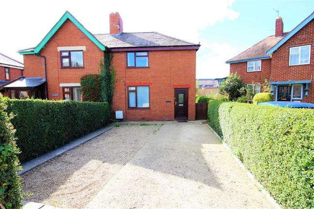 Thumbnail Semi-detached house for sale in Newlands, Lambert Road, Welshpool, Powys