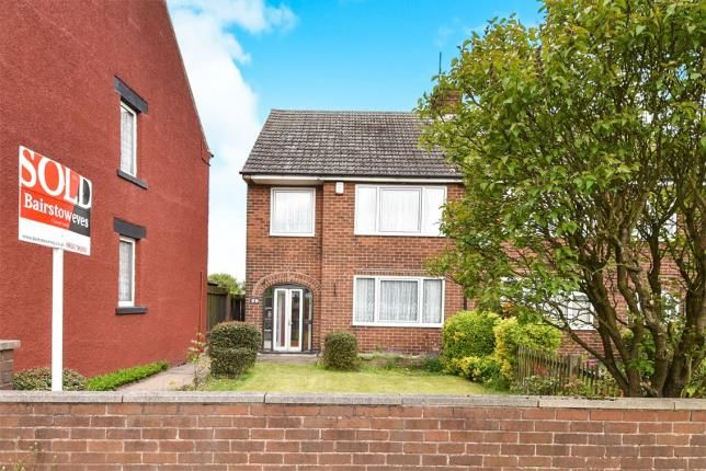 Thumbnail Semi-detached house for sale in Mansfield Road, South Normanton, Alfreton, Derbyshire