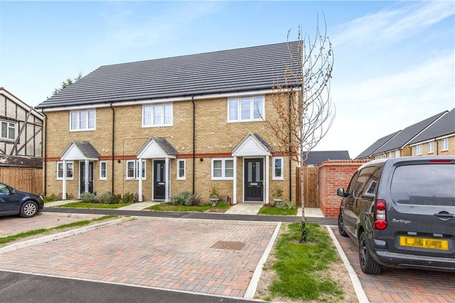 Thumbnail End terrace house for sale in Longford Avenue, Staines-Upon-Thames, Surrey
