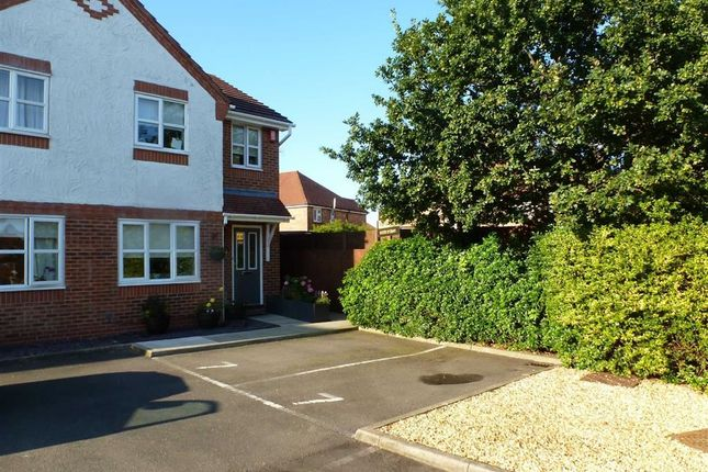 End terrace house for sale in Whittaker Close, Crewe