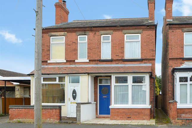 Thumbnail Semi-detached house for sale in Garfield Avenue, Draycott, Derby