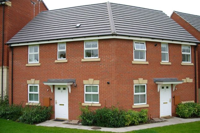 Thumbnail Flat for sale in Harrop Close, Blaby LE8, Blaby,