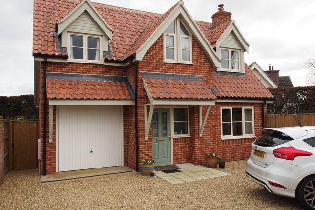 Thumbnail Detached house to rent in Back Lane, Wymondham
