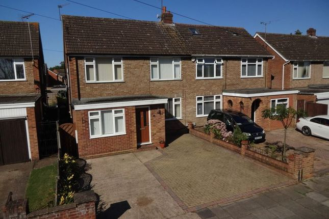 Thumbnail Semi-detached house for sale in Chatteris Close, Leagrave, Luton