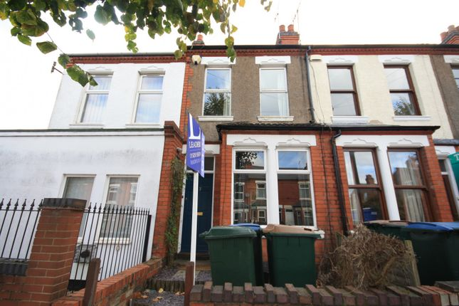 Thumbnail 2 bed end terrace house to rent in Mayfield Road, Earlsdon, Coventry