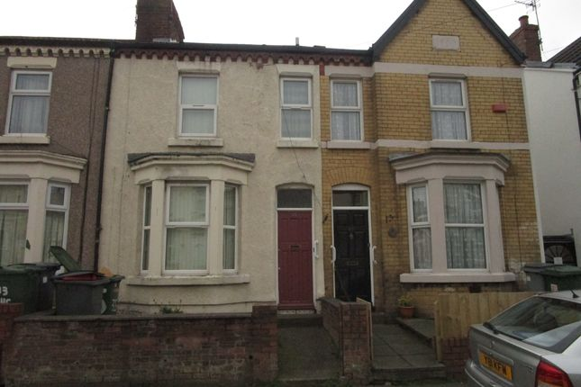 Thumbnail Terraced house to rent in Lucerne Road, Wallasey