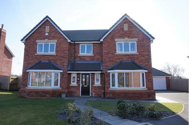 Thumbnail Detached house for sale in Fieldings Close, Longton, Preston