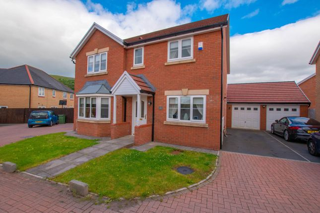 Thumbnail Detached house for sale in Copper Beech Drive, Tredegar