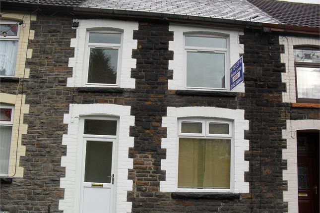 Thumbnail Terraced house to rent in Lower Terrace, Stanleytown, Rhondda Cynon Taff.