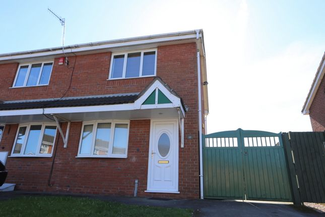 Thumbnail Semi-detached house to rent in Althrop Grove, Longton