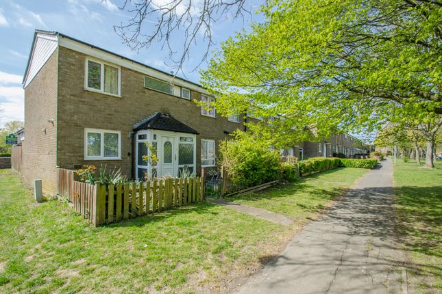 Thumbnail End terrace house for sale in Lincoln Road, Stevenage, Hertfordshire