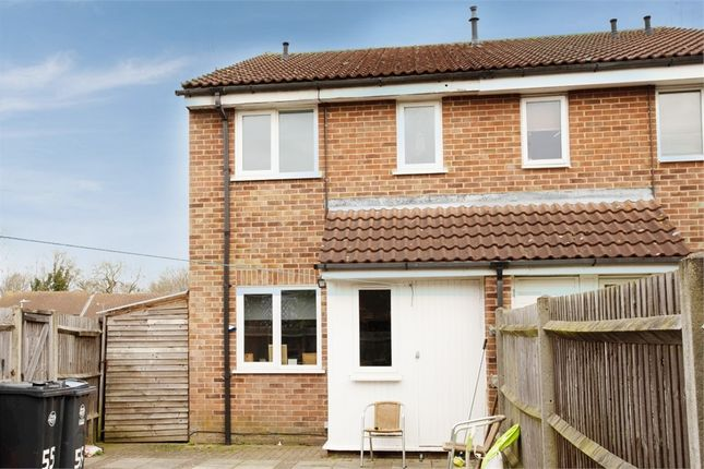 Thumbnail End terrace house for sale in Ashdale, Bishop's Stortford, Hertfordshire
