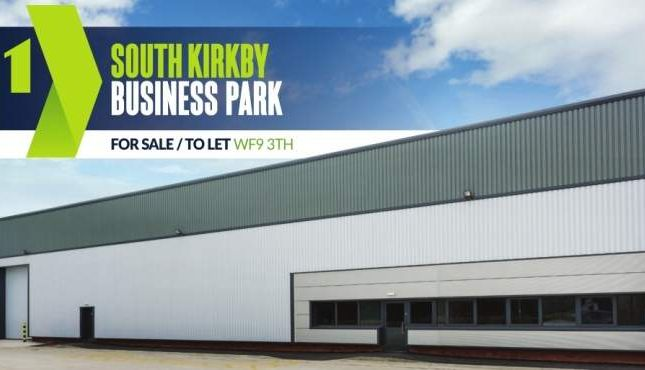 Thumbnail Industrial for sale in South Kirkby Business Park, South Kirkby, Wakefield