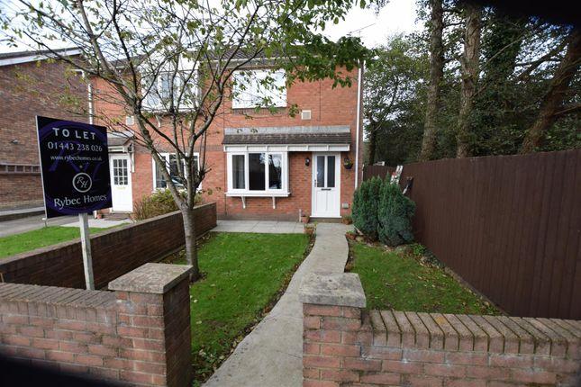 Thumbnail Semi-detached bungalow to rent in Larch Drive, Cross Inn, Pontyclun