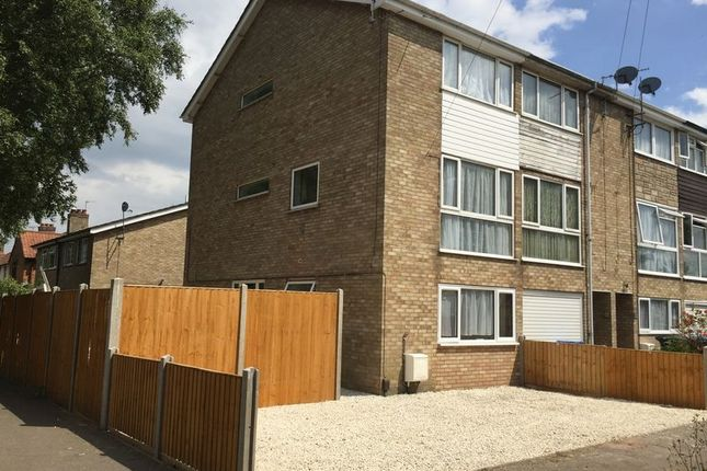Thumbnail End terrace house for sale in Aberdare Court, Norwich, Norfolk