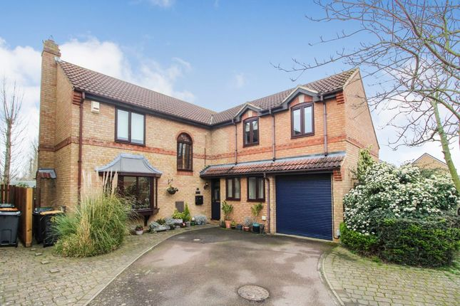 Thumbnail Detached house for sale in Grovebury Court, Wootton, Bedford
