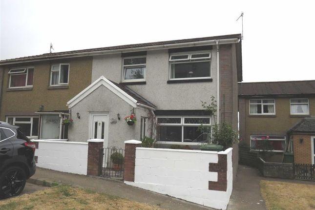 Thumbnail Semi-detached house for sale in Brynfab Road, Rhydyfelin, Pontypridd