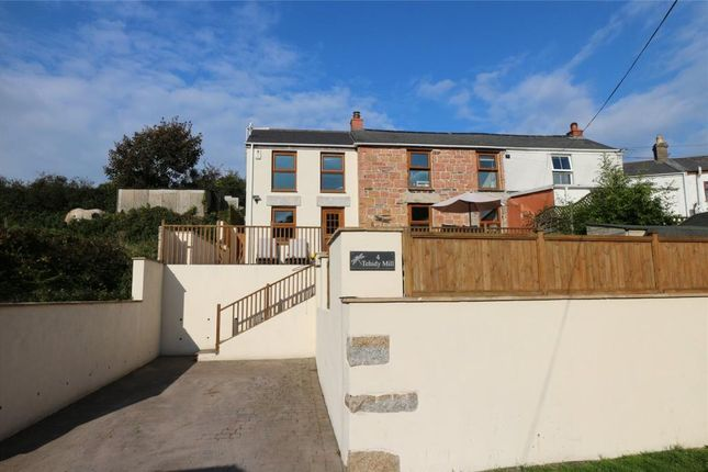 Thumbnail End terrace house for sale in Tehidy Mill Cottages, Roscroggan, Camborne