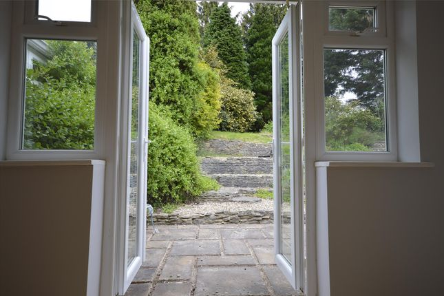 Doors To Garden of Down View, Chalford Hill, Stroud, Gloucestershire GL6