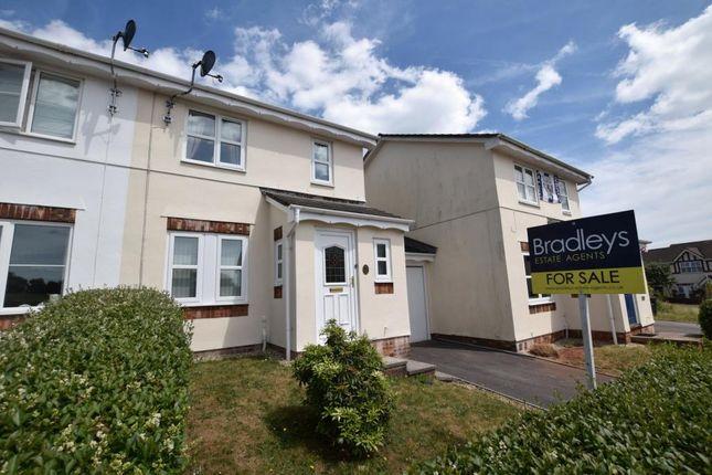 Thumbnail Semi-detached house for sale in Cotehele Drive, Paignton, Devon