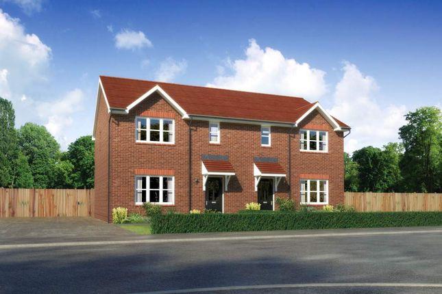 "Thumbnail Semi-detached house for sale in ""Caplewood"" at Callenders Green, Scotchbarn Lane, Prescot"