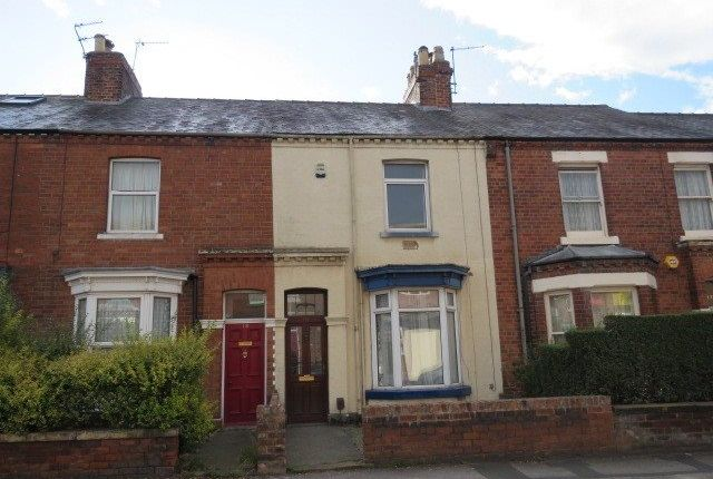 Thumbnail Terraced house to rent in Burton Stone Lane, York