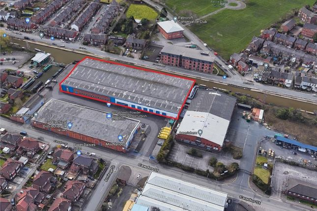 Thumbnail Industrial to let in Unit B, Barton Business Park, Cawdor Street, Eccles, Manchester, Greater Manchester