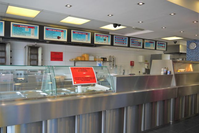 Thumbnail Restaurant/cafe for sale in Fish & Chips WF9, Upton, West Yorkshire